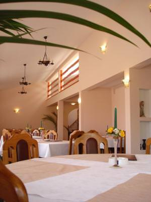 restaurant, table, diner, eat, chairs, masa, restaurant, plant, retrait, corner