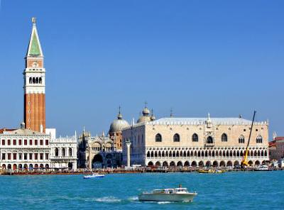 Venice, San, Marco, Square, Palace. Doges, sea, Venetia, Piata, Palatul, Dogilor