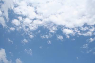 sky, clouds, blue, cer, nori, albastru