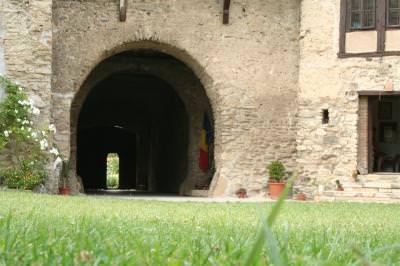 tunnel, gate, door, medieval. old, open, tunel, poarta, usa, vechi, deschis, sepia