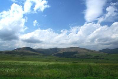 nature, mountains, hills, grass, quiet, flowers, plain, flat, sky, clouds, natura, dealuri, flori, campie, nori, iarba, cer, liniste