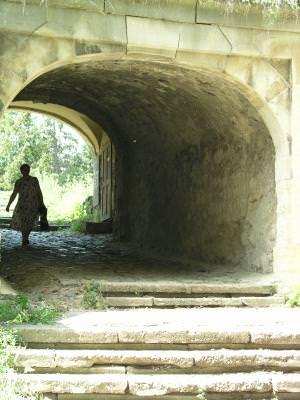 silhouette, gate, woman, stairs, kapu, poarta, silueta, femeie, trepte