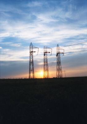 electricitate, apus, instalatii, curent, soare, nori, cer, sunset, powerplant, sunset, sky, clouds