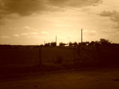 rural, country, tara, sunset, apus, rasarit, sunrise, fence, gard