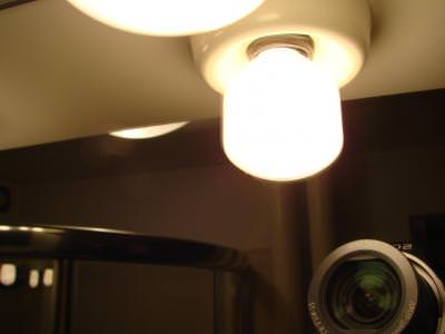 lens, camera, sony, mirror, reflected, light, lumina, bulb