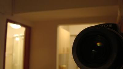lens, camera, sony, mirror, reflected, light, lumina, bulb, photo, image, scan, shoot,