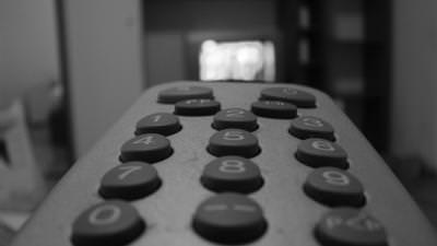 remote, concept, black, white, alb, negru, buttons, press, push, click