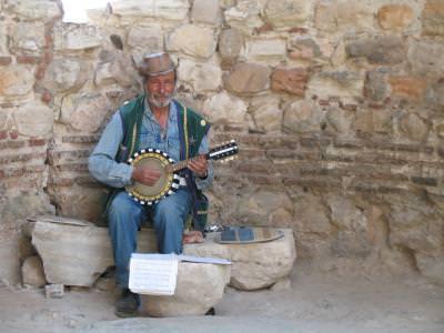 sing, cantec, cantat, man, barbat, instrument, musica, music