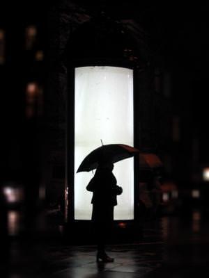 umbrella, rain, silhouette, woman, darken, intunecat, umbrela, ploaie, cover, acoperit, figura, silueta
